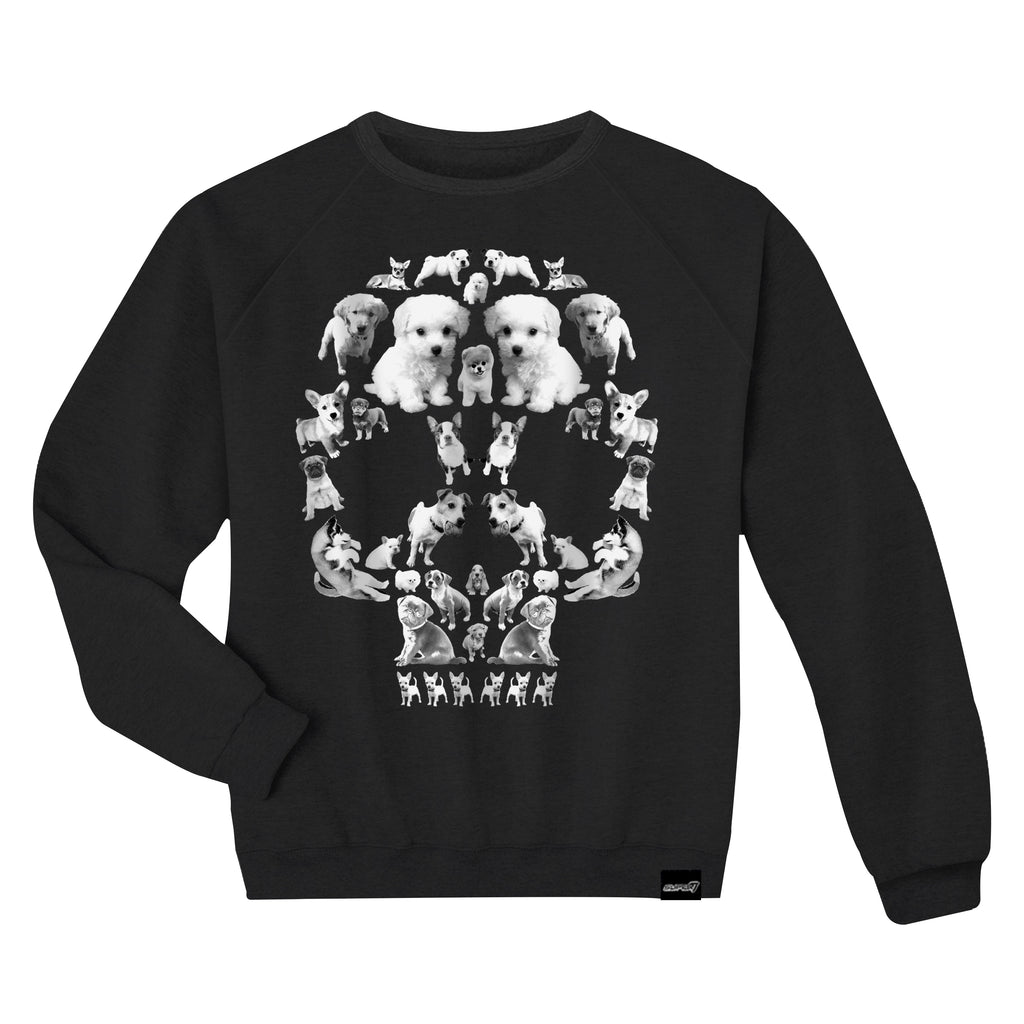Death By Puppies Crewneck Sweatshirt
