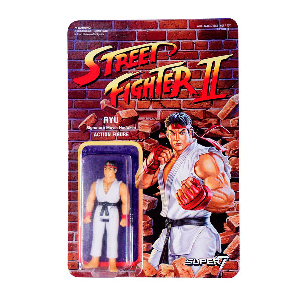 Street Fighter 2 - Ryu Action Figure