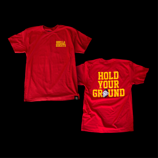 Gorilla Biscuits - Hold Your Ground T-Shirt