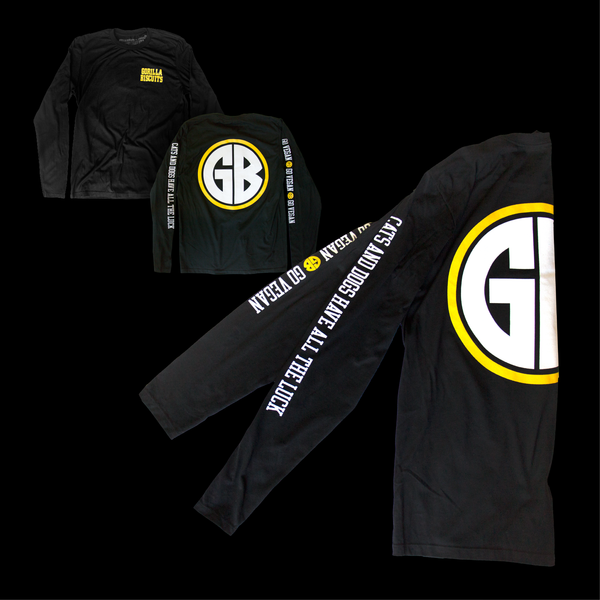 Gorilla Biscuits - Black Longsleeve T-Shirt
