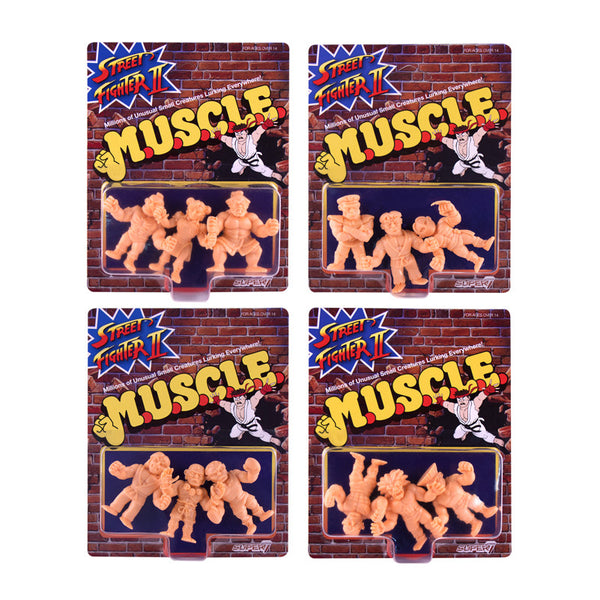Street Fighter 2 MUSCLE Wave 1 - Full Set