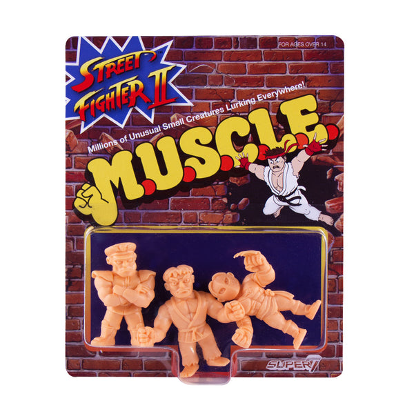 Street Fighter 2 MUSCLE Wave 1 - Pack A