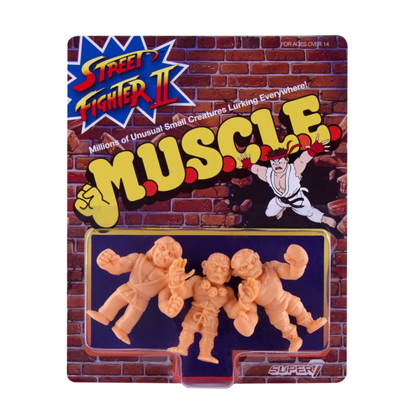 Street Fighter 2 MUSCLE Wave 1 - Pack B