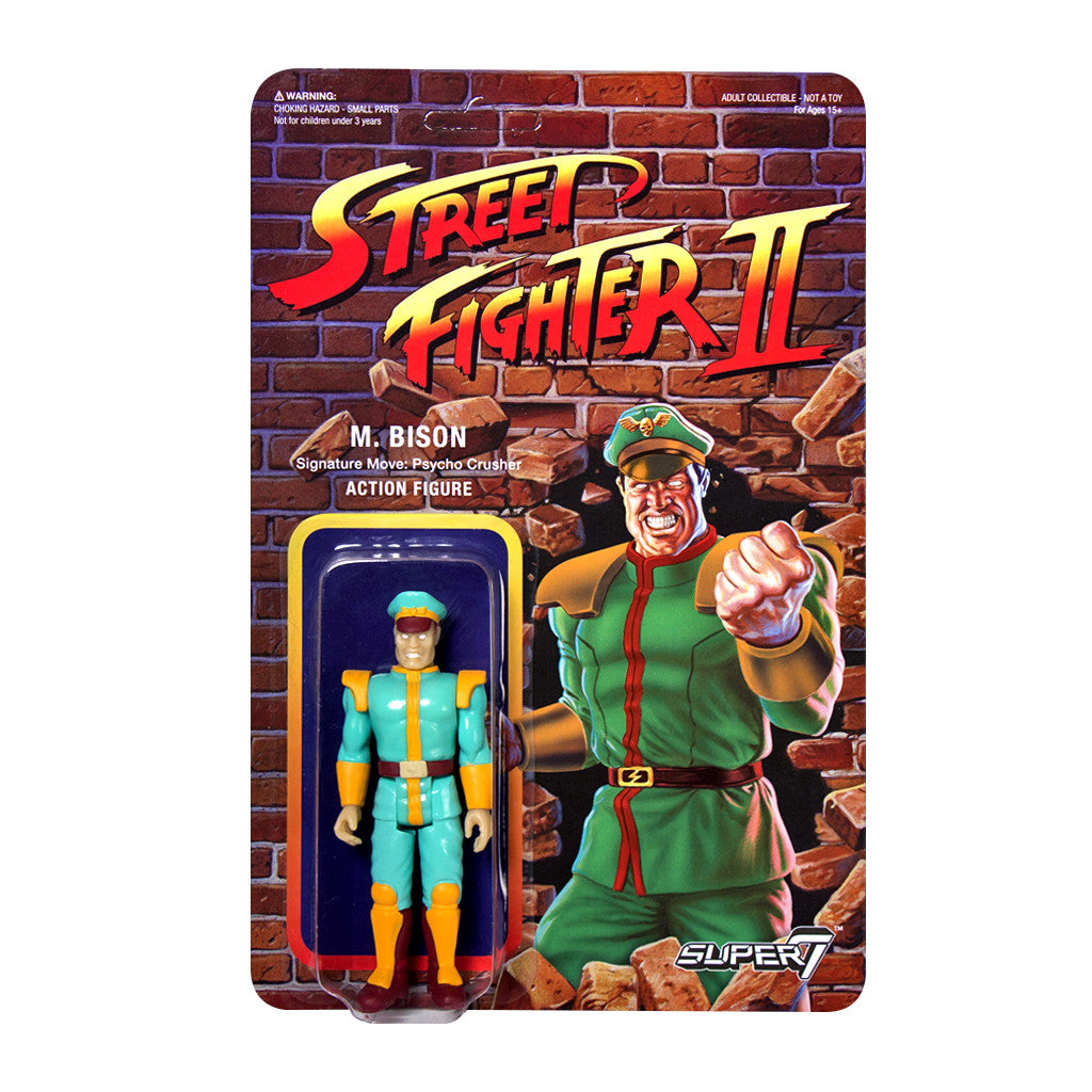 Street Fighter 2 - M. Bison Action Figure - Champion Edition