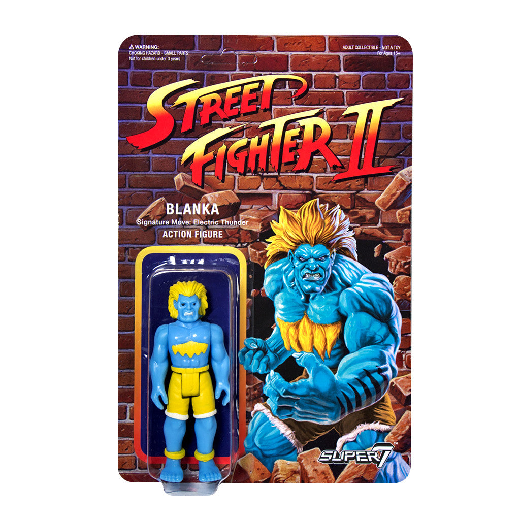 Street Fighter 2 - Blanka Action Figure - Champion Edition