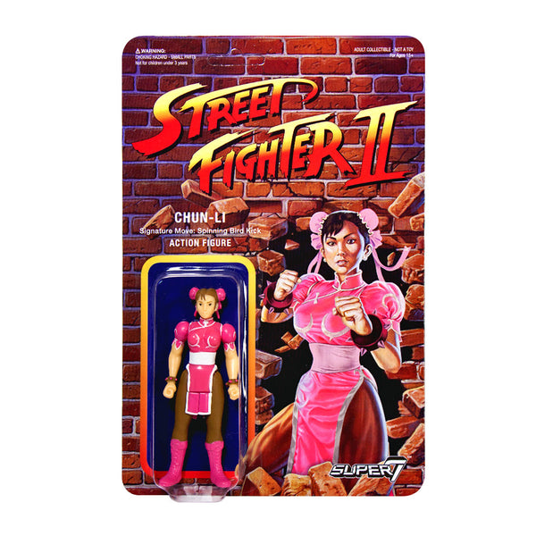 Street Fighter 2 - Chun-Li Action Figure - Champion Edition