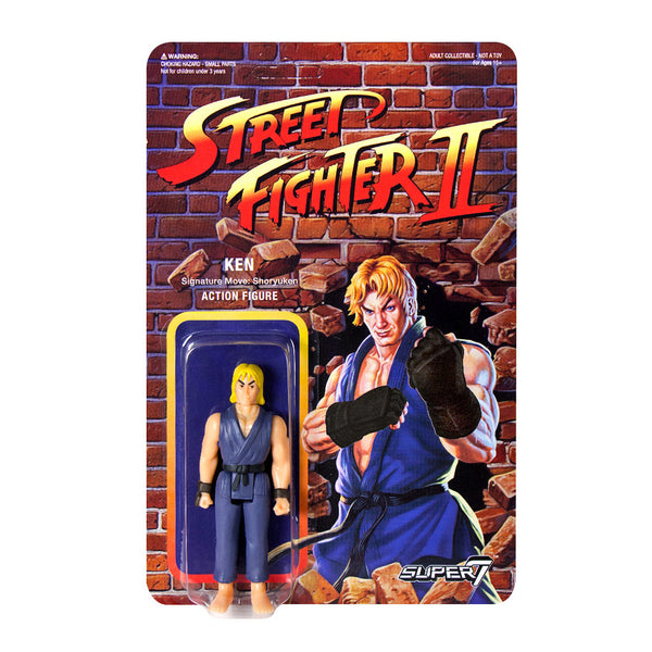 Street Fighter 2 - Ken Action Figure - Champion Edition