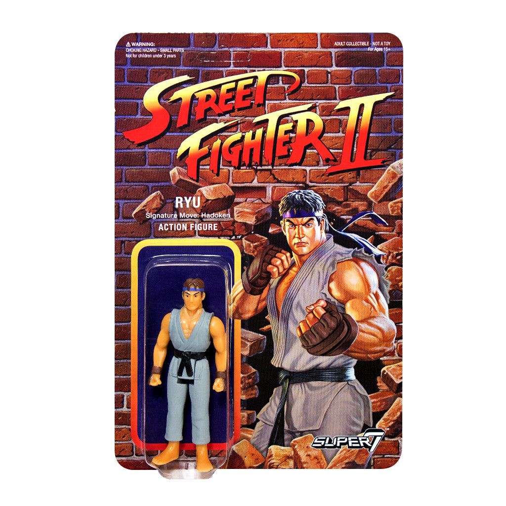Street Fighter 2 - Ryu Action Figure - Champion Edition