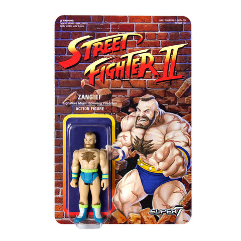 Street Fighter 2 - Zangief Action Figure - Champion Edition