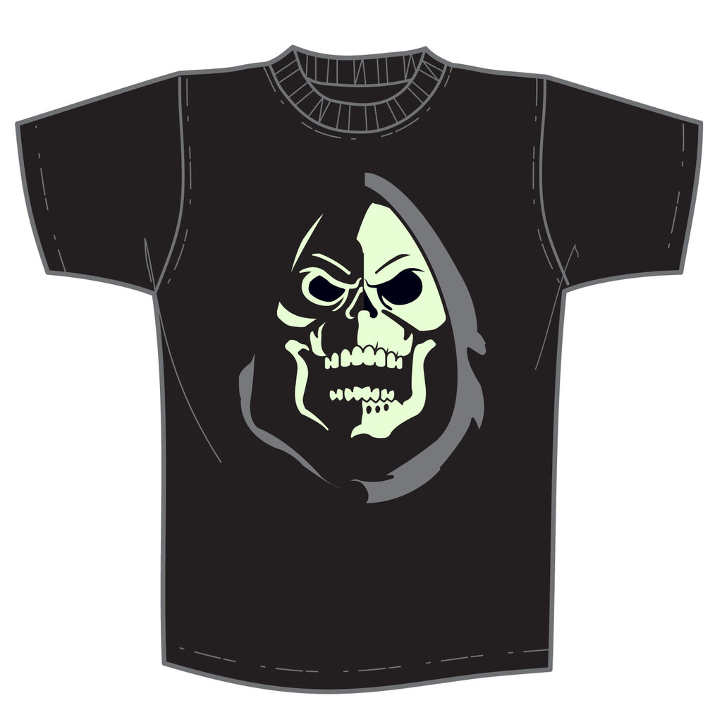 Skeletor Minimal Glow-in-the-Dark T-Shirt