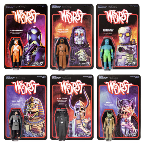 Star Worst - Full Set (6 Figures)