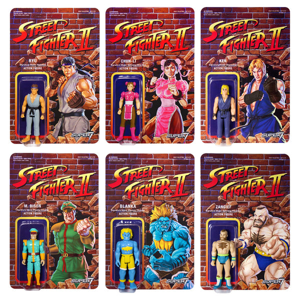Street Fighter 2 - Champion Edition (Set of 6 Action Figures)