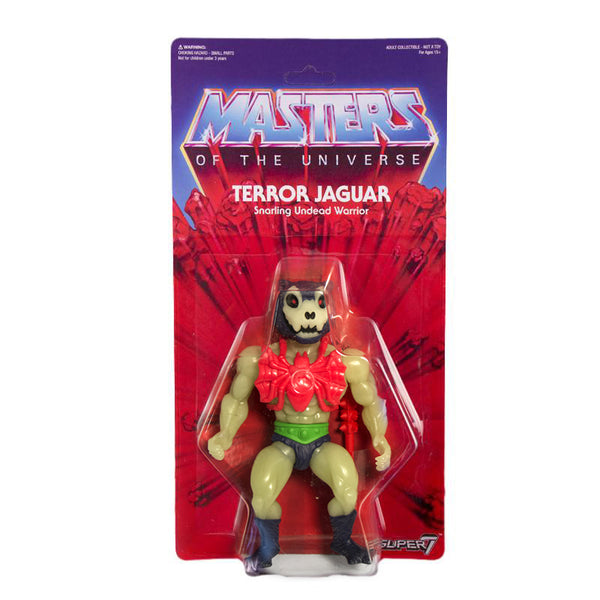 Masters of the Universe Vintage Collection - Glow-In-The-Dark Terror Jaguar