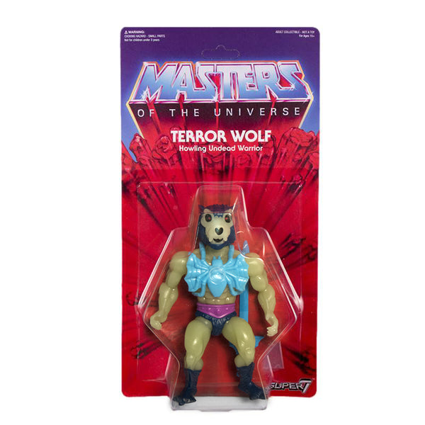 Masters of the Universe Vintage Collection - Glow-In-The-Dark Terror Wolf