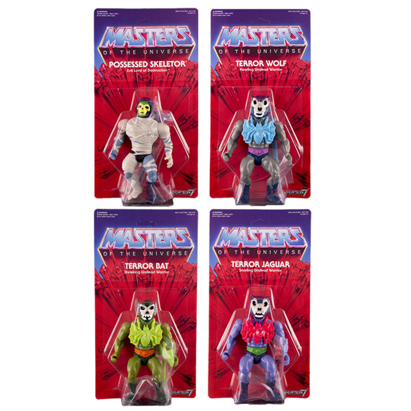 Masters of the Universe Vintage Collection Set of Four