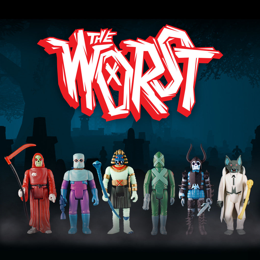 The Worst - Graveyard Shift (Set of 6 Figures)