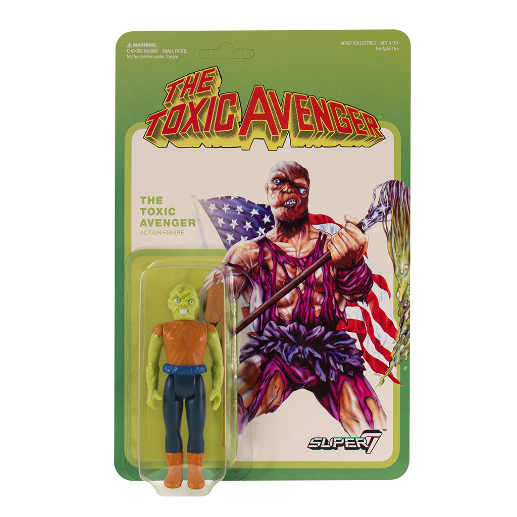 Toxic Avenger ReAction Figure - Toxic Crusader Variant