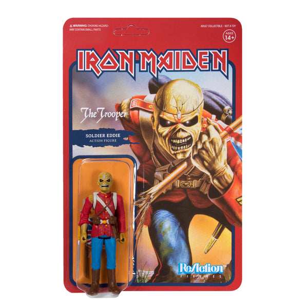 "Iron Maiden - The Trooper 3.75"" ReAction Figure"