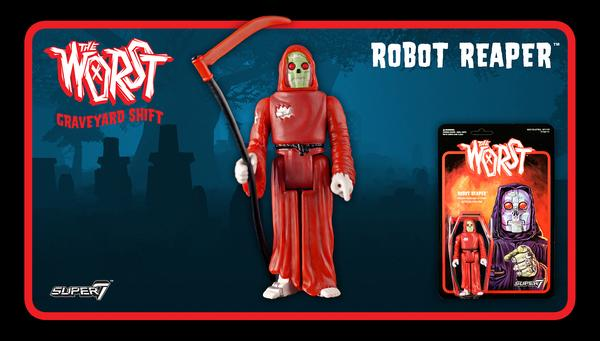 The Worst - Graveyard Shift Set - Robot Reaper
