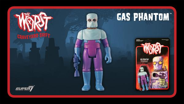 The Worst - Graveyard Shift Set - Gas Phantom