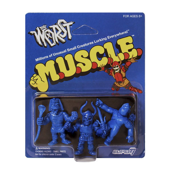 The Worst MUSCLE 3-Pack - Pack B Blue