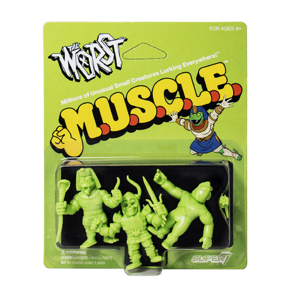 The Worst MUSCLE 3-Pack - Pack B Green