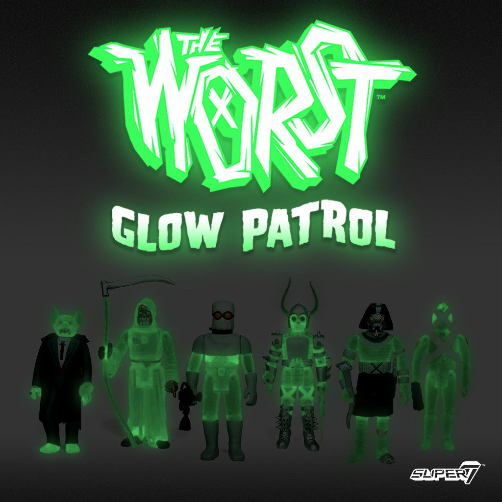 The Worst - Glow Patrol (Set of 6 Figures)