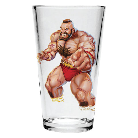 Zangief Pint Glass
