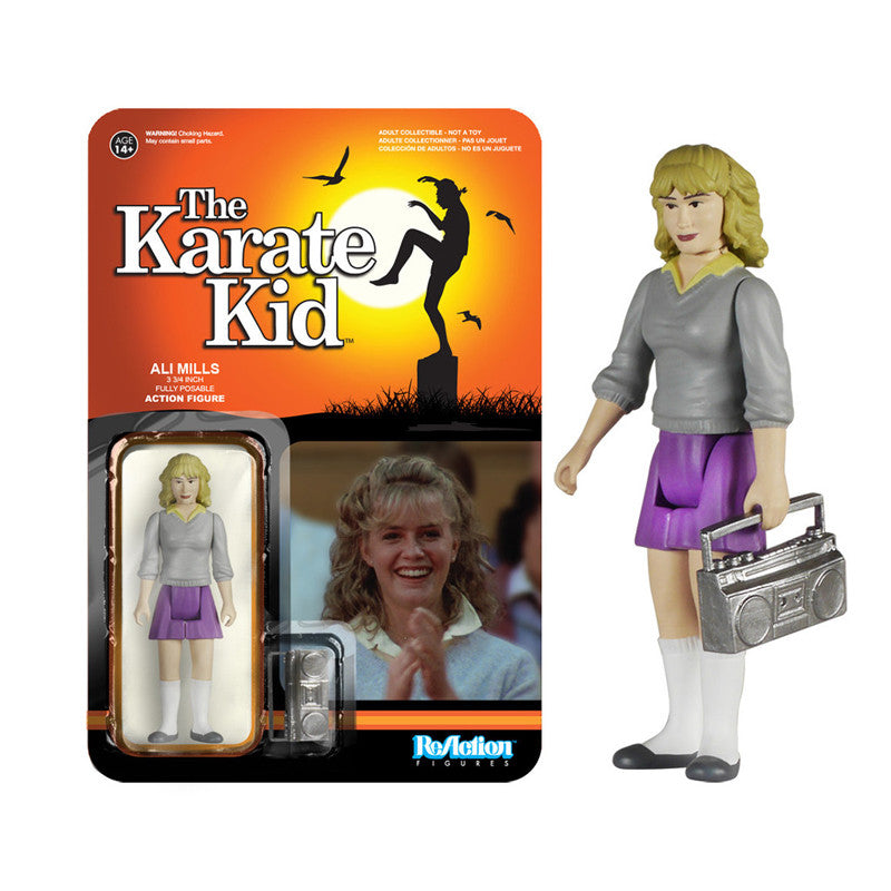 The Karate Kid Ali ReAction Figure