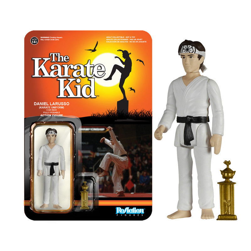 The Karate Kid - Daniel Larusso (Karate Outfit) ReAction Figure