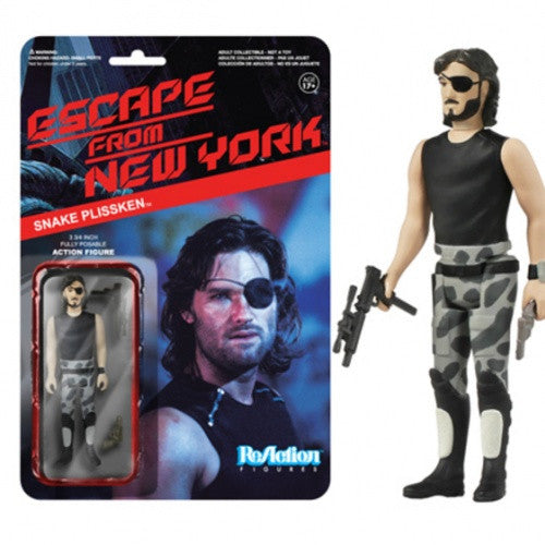 Escape from New York - Snake Plissken ReAction Figure