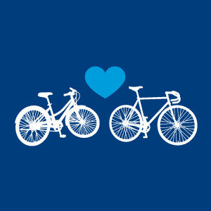 Bike Love Notebook [Navy Blue]