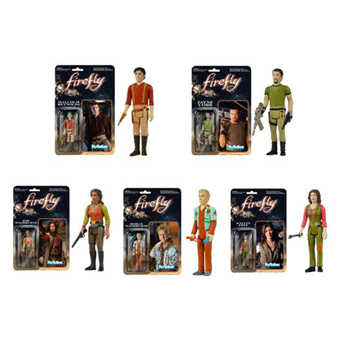 Firefly - ReAction Figure Set
