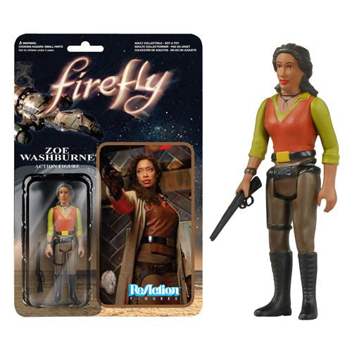Firefly - Zoe Washburne ReAction Figure