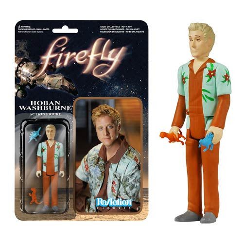 Firefly - Hoban Washburne ReAction Figure