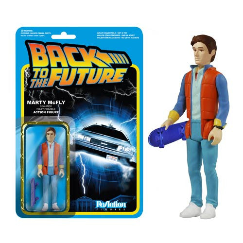Back to the Future - Marty McFly ReAction Figure