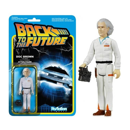 Back to the Future - Doc Brown ReAction Figure
