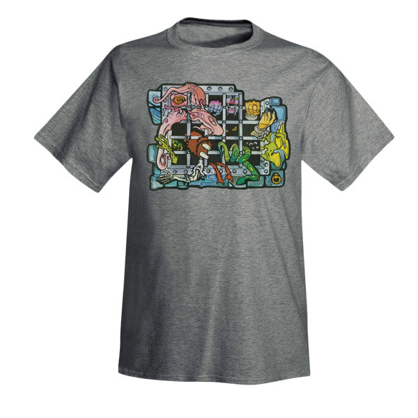 Grayskull Dungeon Sticker T-Shirt