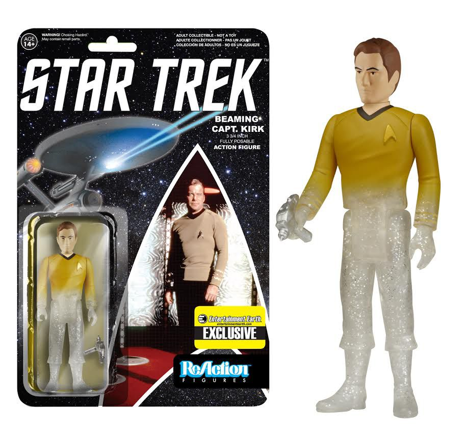 Star Trek - Beam Me Up Kirk ReAction Figure