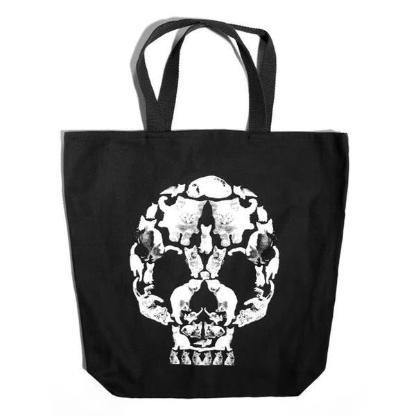 Death By Kitten Tote Bag