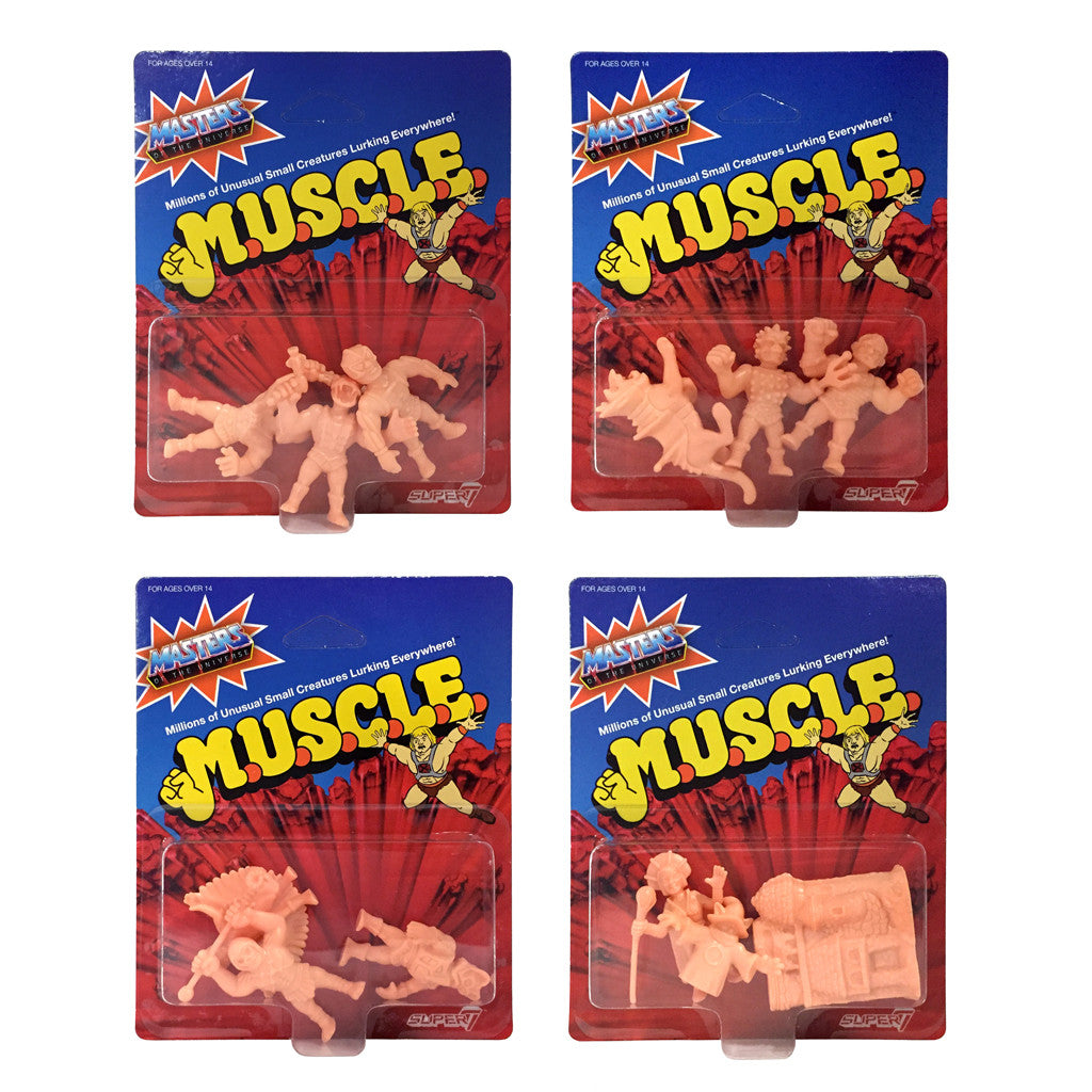 MOTU MUSCLE Wave 2 - Full Set