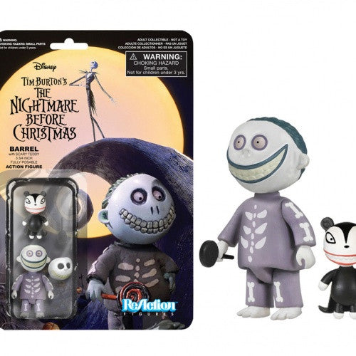 Nightmare Before Christmas - Barrel ReAction Figure