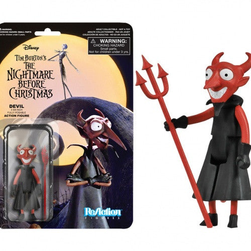 Nightmare Before Christmas - Devil ReAction Figure