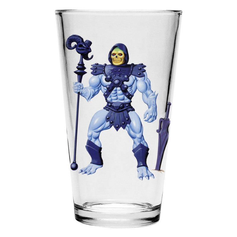Skeletor Pint Glass