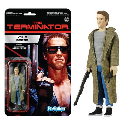 The Terminator - Kyle Reese ReAction Figure
