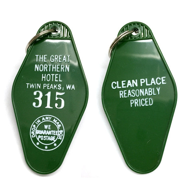 The Great Northern Hotel Key Tag