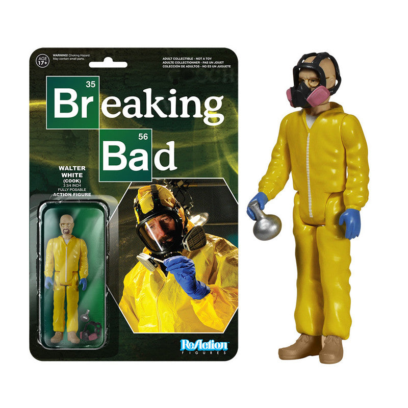 Breaking Bad - Walter White Cook ReAction Figure