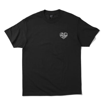 Heart Logo S/S T-Shirt Black
