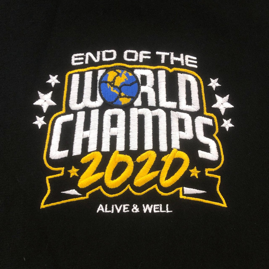 End Of The World Champs Champion Reverse Weave Hoodie