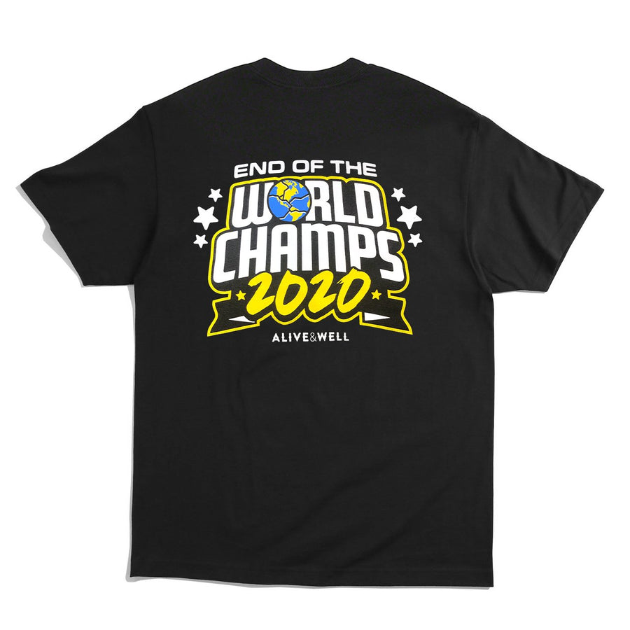 End Of The World Champs S/S T-Shirt Black